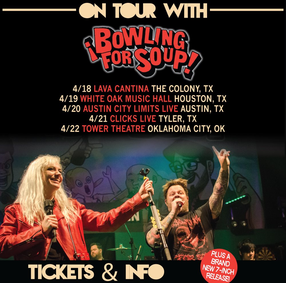 On tour with Bowling For Soup!