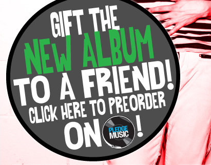Gift a Pledge for the NEW album!